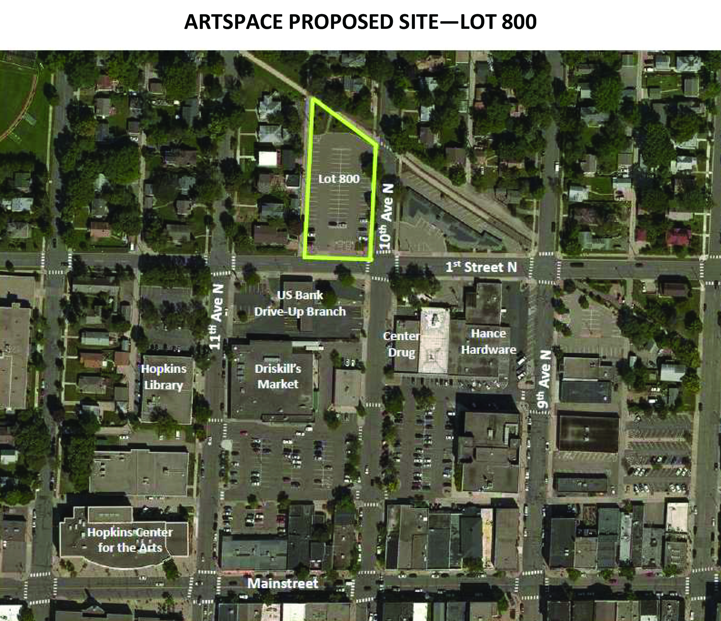 Artspace Proposed Site Lot 800